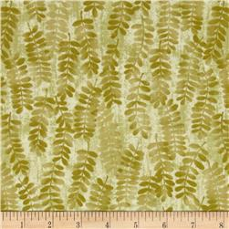 Fernwood Handblocked Fern Light Leaf