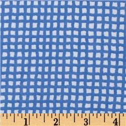 Alpine Flannel Gingham Medium Blue