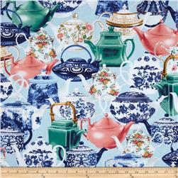 Kanvas High Tea Pots Blue