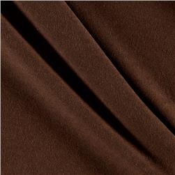Cotton Spandex Knit Solid Coffee