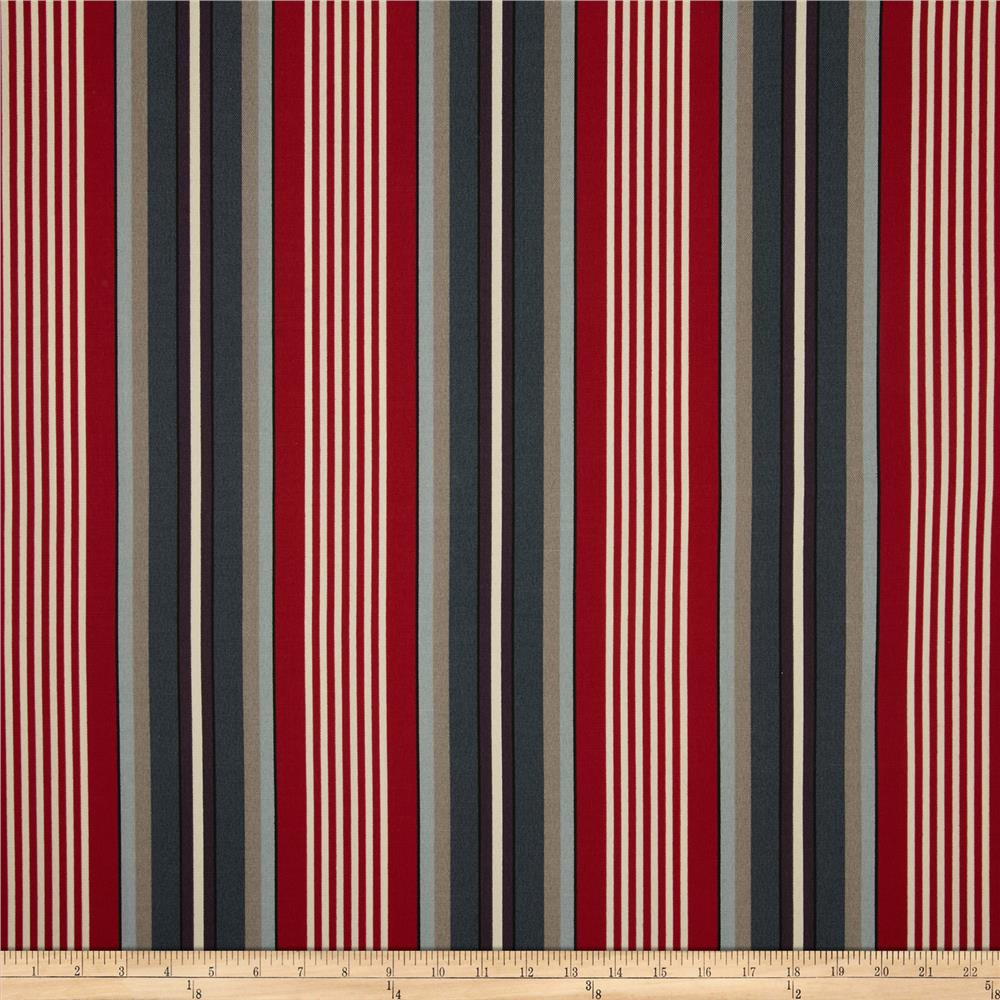 Richloom Solar Outdoor Walden Stripe Nautical