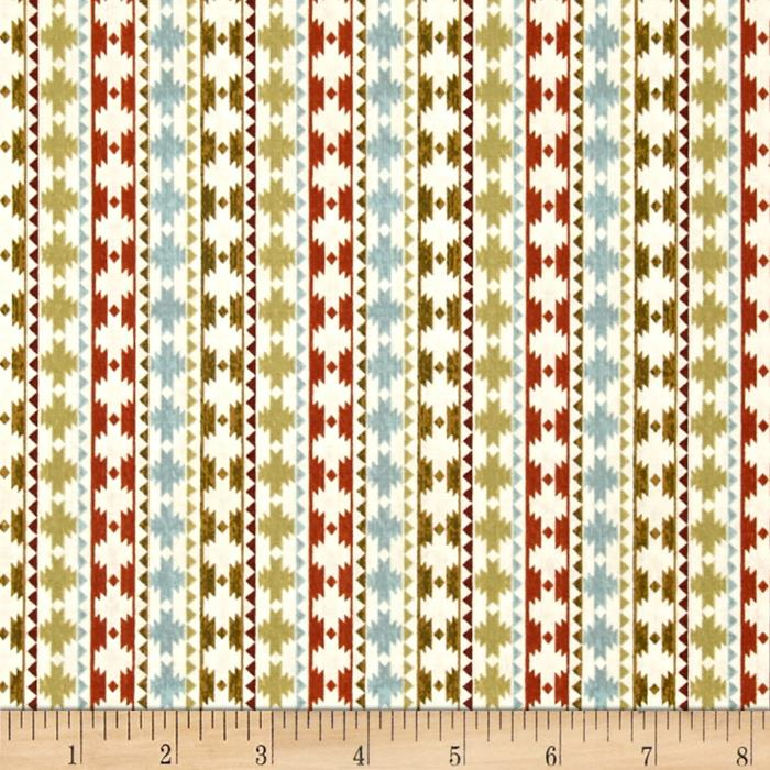 Wild Woods Native Stripe Cream