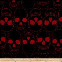 Yorik Skulls Black/Red