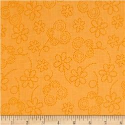 Bugsy Dot Floral Orange