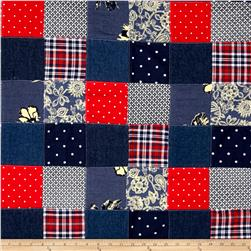 Americana Denim Patchwork Multi