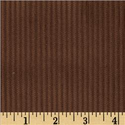 Wide Wale Corduroy Brown