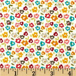 Riley Blake Unforgettable Floral Cream Fabric