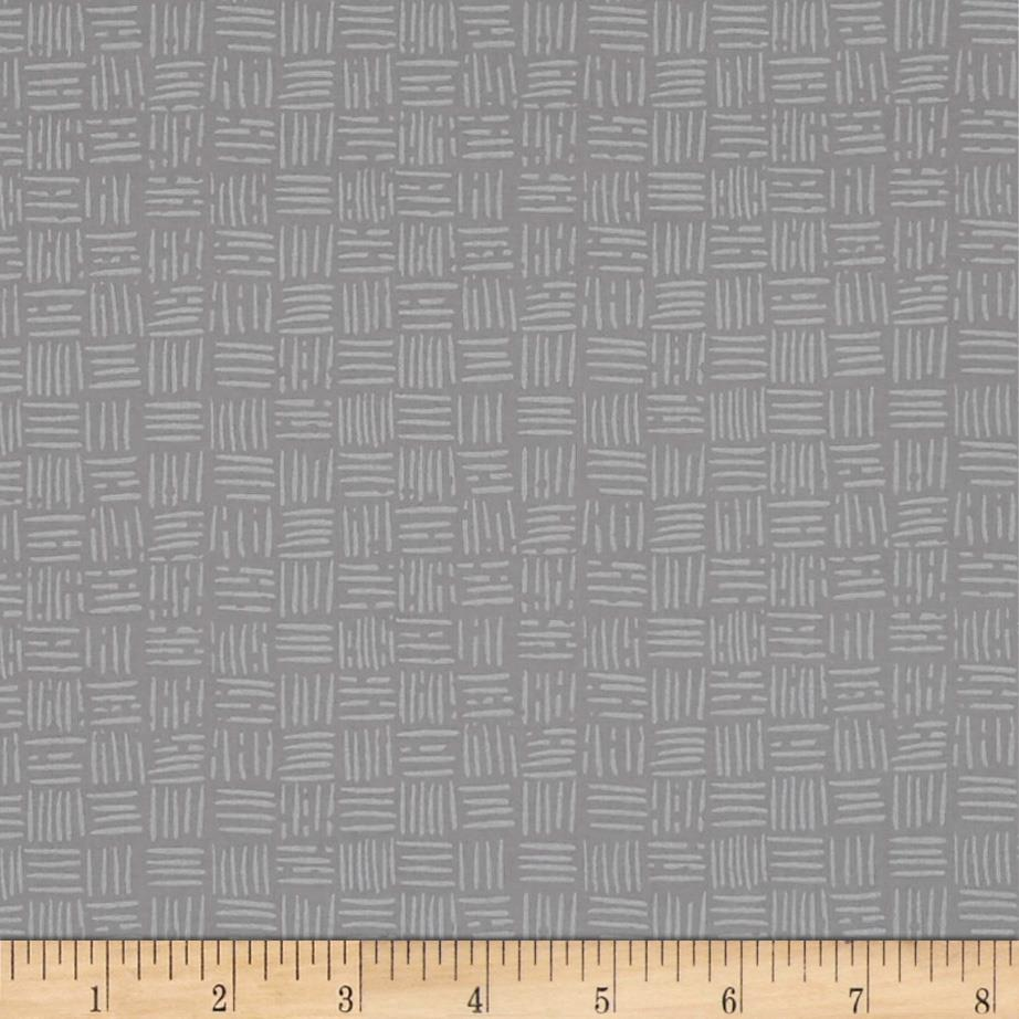Silver Linings Basketweave Gray