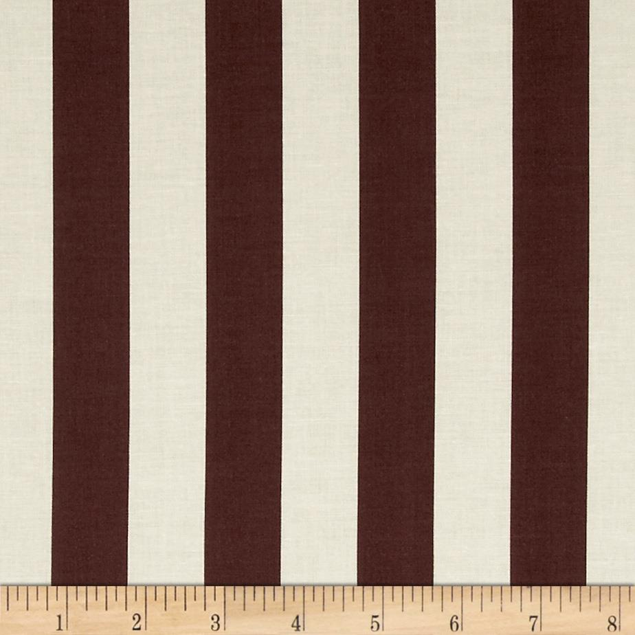 Riley Blake Le Creme Basics Medium 1 Quot Stripe Brown Cream