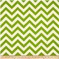 Premier Prints Indoor/Outdoor Zig Zag Greenage