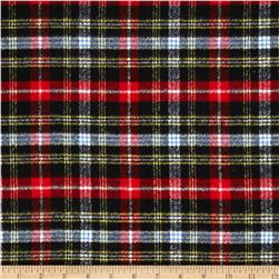 Kaufman Mammoth Flannel Plaid Jet