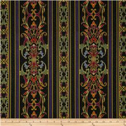 Carnival Scroll Border Black