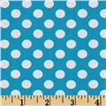 Spot On Medium Dot Turquoise