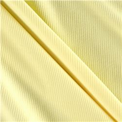 Athletic Rib Knit Cake Batter Yellow
