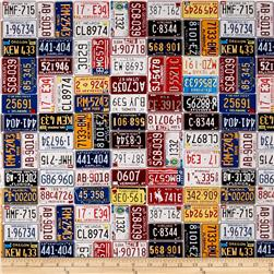 American Homecoming License Plates Vintage
