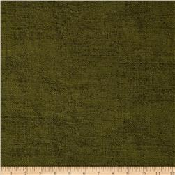 Moda Rustic Weave Army Green Fabric