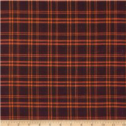 Holiday Blitz Medium Plaid Fuchsia/Orange