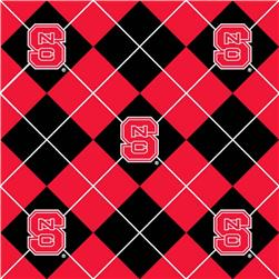 Collegiate Fleece North Carolina State University Argyle