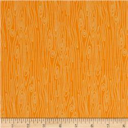 Riley Blake Happy Harvest Flannel Wood Orange Fabric