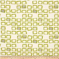 Moda Reel Time Screens Chalk/Chartreuse