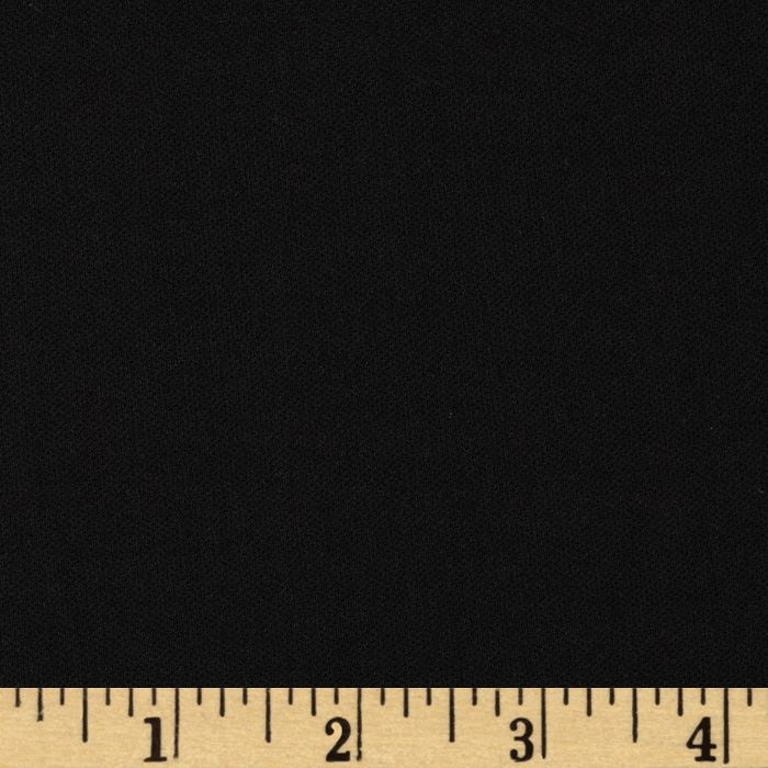 Poly Single Knit Black Fabric by Spechler-Vogel in USA