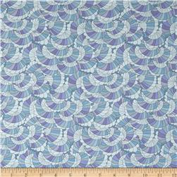 Liberty of London Crepe Baby Rainbow Blue