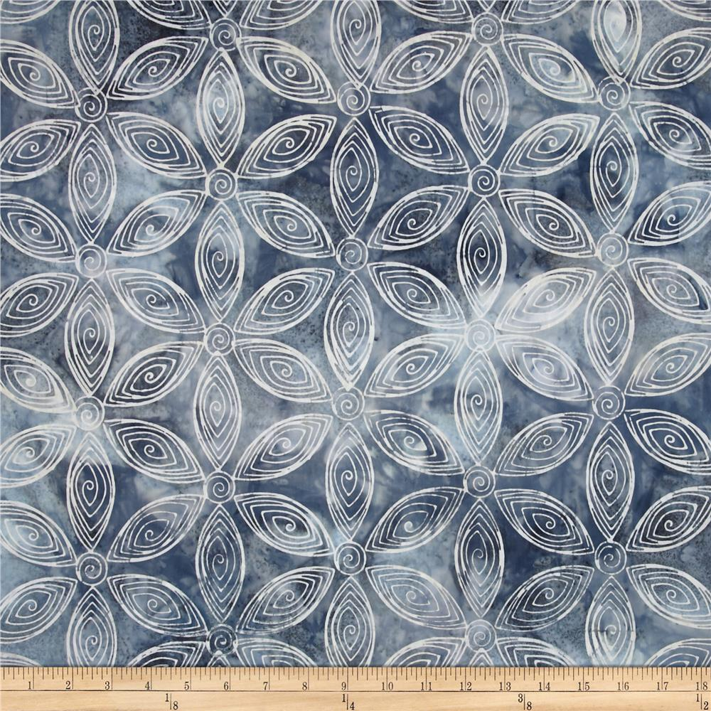 Kaufman Artisan Batiks Rivoli Large Flower Shadow