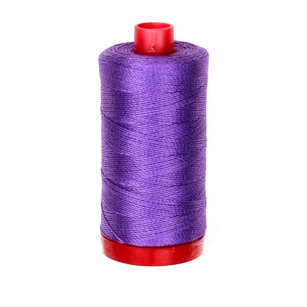 Aurifil 12wt Embellishment and Sashiko Dreams Thread Medium Lavender