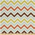 Premier Prints Sheeting Zoom Zoom Village/Natural
