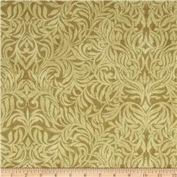 Northern Exposure Damask Linen Fabric