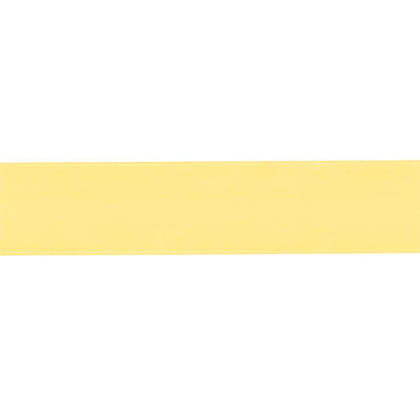1 1/2'' Double-sided Satin Ribbon Yellow