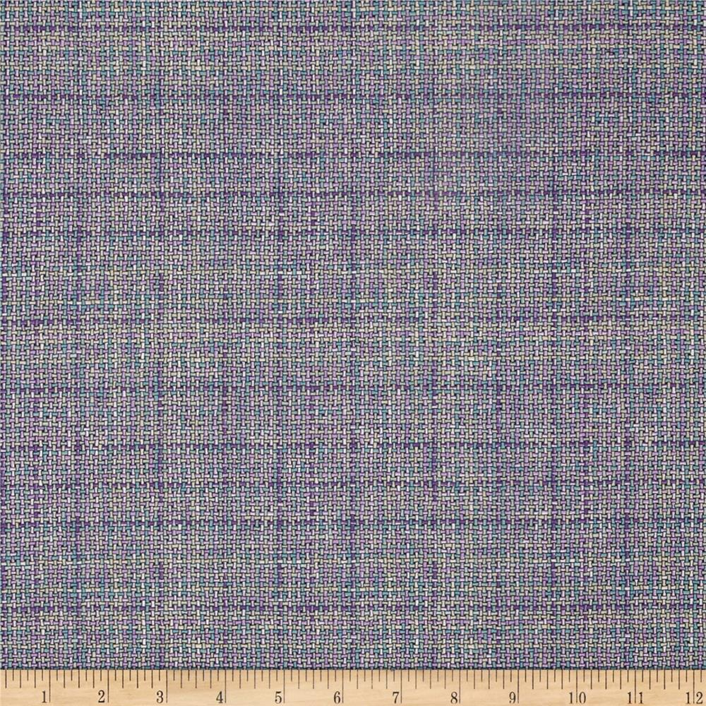 Robert Kaufman Quilters Homespun Checkerboard Violet