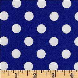 Brights & Pastels Basics Polka Dot Navy