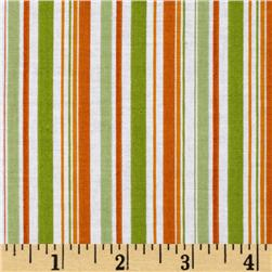 Riley Blake Pieces of Hope Stripe Orange
