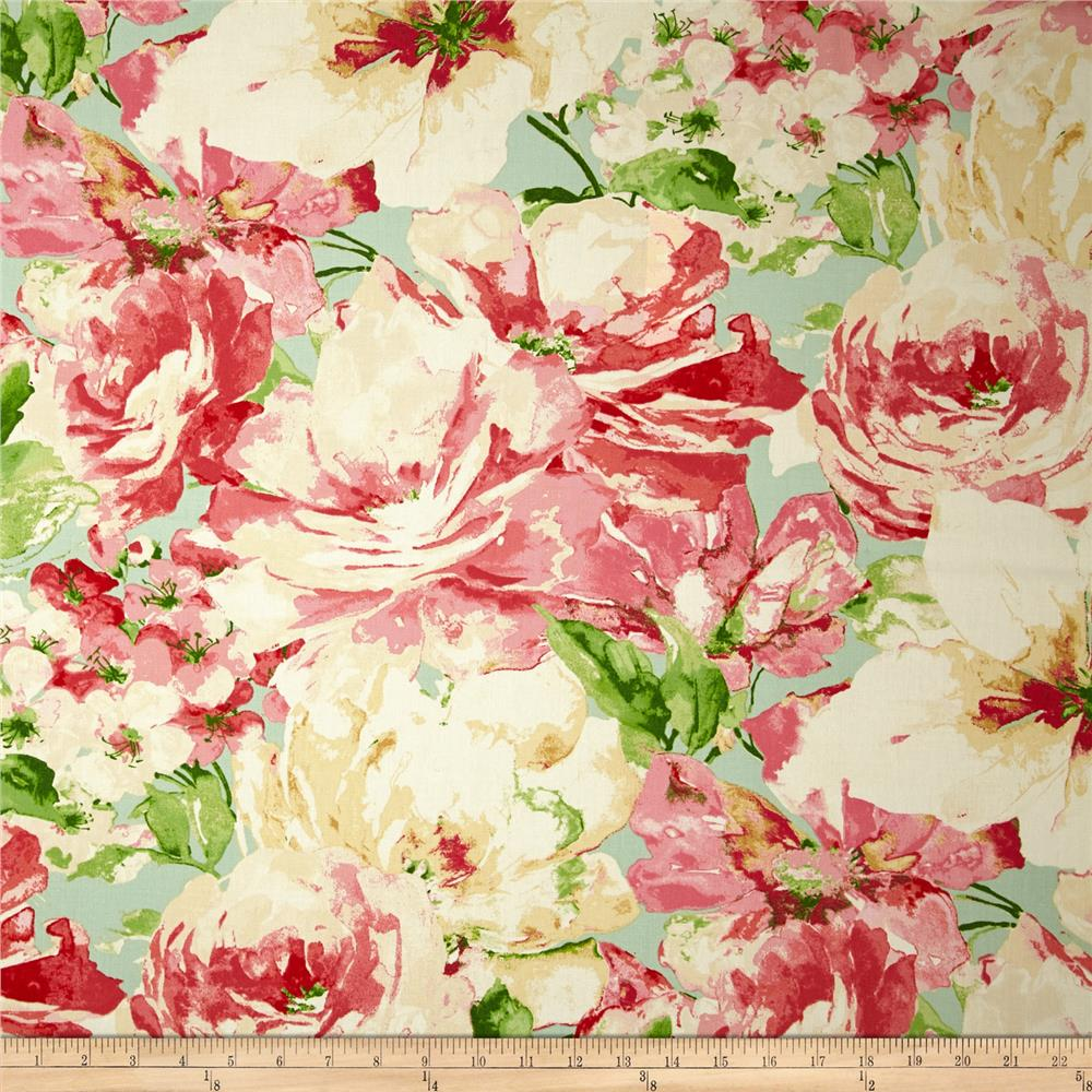 Waverly Fresh Picked Floral Twill Petal
