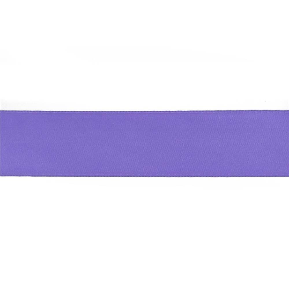 "May Arts 1 1/2""  Double Sided Satin Ribbon Spool Light Purple"