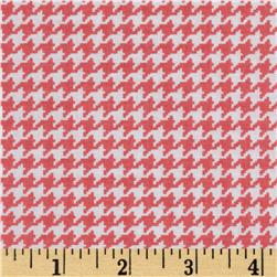 Michael Miller Tiny Houndstooth Shell Fabric