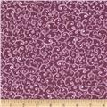 Devon Scroll Dark Purple