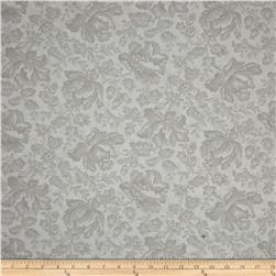 Moda Whitewashed Cottage Damask Pebble