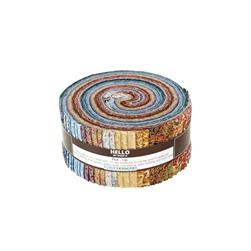 Robert Kaufman Fusions Regent 2.5 In. Jelly Roll Multi
