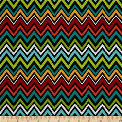 Quiltologie Chevron Black/Multi