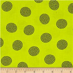 Windham Go Big Or Go Home  Dot Cluster Pea Green