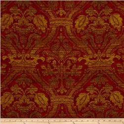 Robert Allen Promo Kings Court Chenille Jacquard Crimson