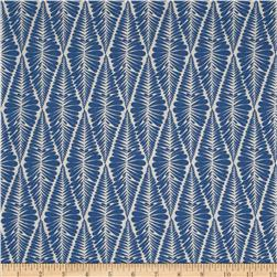 Valori Wells Ashton Road Fern Stripe Indigo