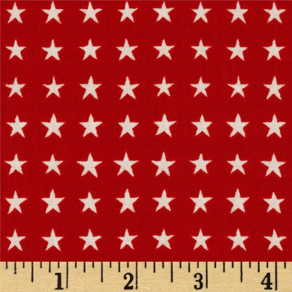 Love, Luck, & Liberty Liberty Star Light Red