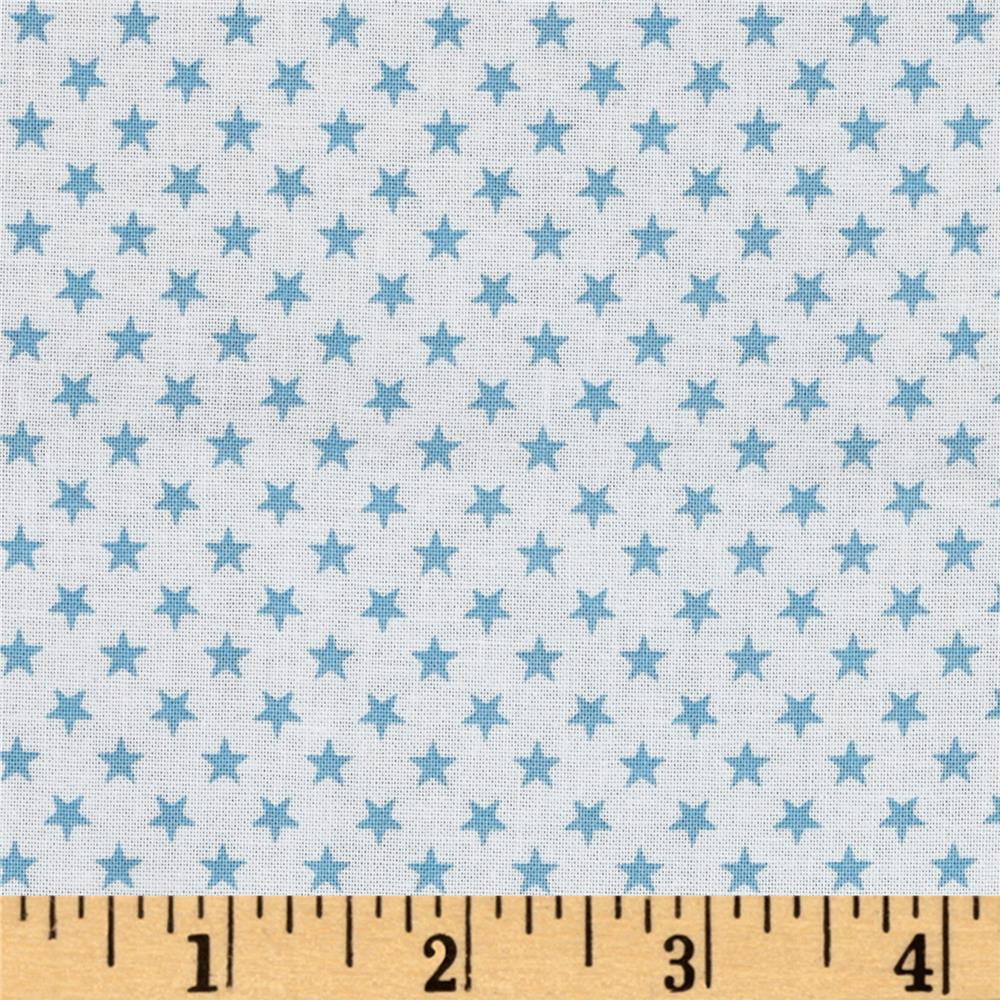 Kaufman sevenberry classiques small star sky discount for Star design fabric