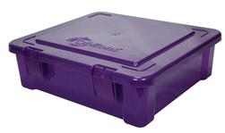 Creative Options Album & Craft Tub Craft Organizer Purple