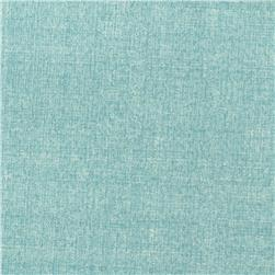 Contempo Hand Made Linen Texture Light Turquoise