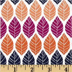 Michael Miller Rustique Leaf Press Plum