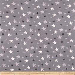 Polar Fleece Stars Grey